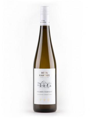 TRAMÍN ČERVENÝ – moravské zemské víno 2016 RÉVA RAKVICE