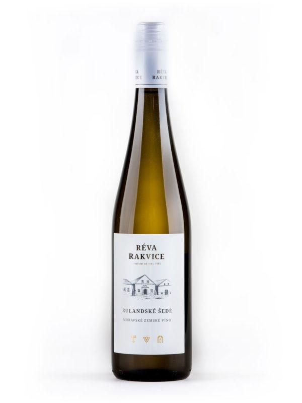Rulandské šedé – moravské zemské víno RÉVA RAKVICE