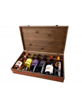 Primitivo - Negroamaro - Malvasia / Dárkové balení (Gift box) Paololeo
