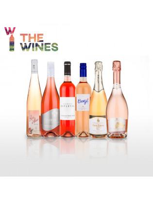 Degustační balíček 6 růžových vín