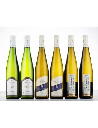 Degustační balíček Ryzlink rýnský z Alsaska od A do Z